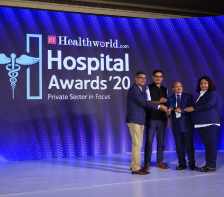 The Best Hospital – Urology' at the National level (All India level)