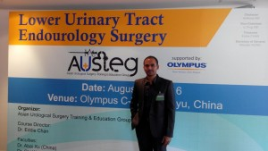 Dr. Pradeep- Department of Urology at Guanzgzou, China.