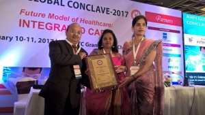 NU Hospitals (South) – Padmanabhanagar, Bengaluru, has won the AHPI- (Association of Healthcare Providers of India) award in the 'Patient Friendly Hospital' category!