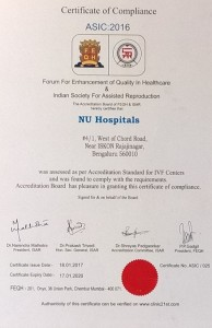 NU Hospitals and the Department of Reproductive Medicine has been Accredited by the FEQH and ISAR (Indian Society of Assisted Reproduction) for the IVF Centre at NU Hospitals
