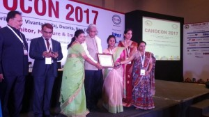NU Hospitals- Videos awarded the second prize in the CAHOCON, at New Delhi, All-India level.