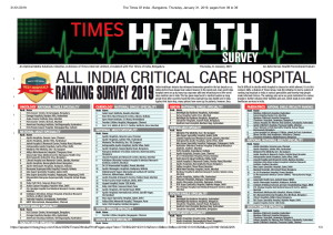 The Times Of India - Bangalore, Thursday, January 31, 2019, pages from 39 to 39-1
